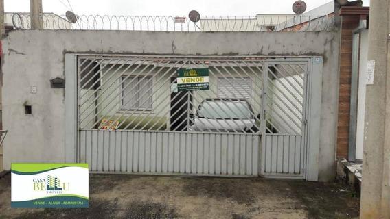 Casa Com 1 Dormitório À Venda, 49 M² Por R$ 180.000 - Jardim Santo Antonio - Franco Da Rocha/sp - Ca0387