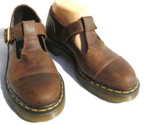 Dr Martens Gormy Zapatos Eu39 Uk6 Us L8 Cuero Marron-ana.mar