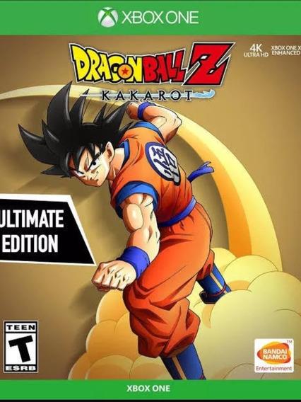 Jogo - Dragonball Z Kakarot Xbox One Mídia Digital