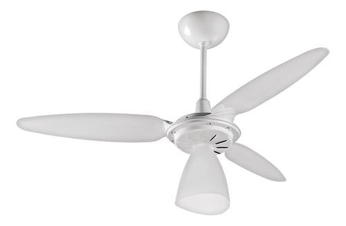 Ventilador De Teto Ventisol Wind Light Branco Com 3 Pás