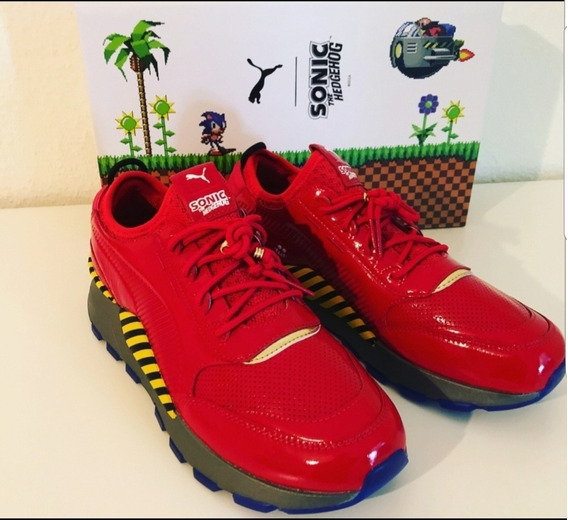 Tenis Puma Rs Dr. Eggman / Sonic
