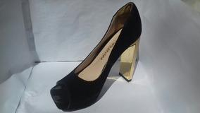 Sapato Salto Alto Di Valentini Preto 37