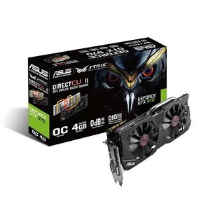 Placa De Vídeo Gtx 970 Oc 4gb Gddr5 Vga Asus Nvidia Geforce