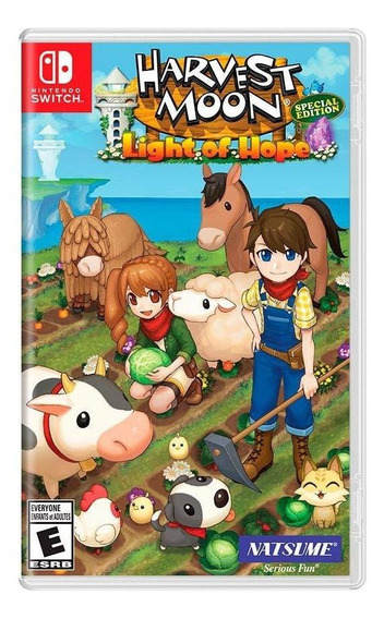 Harvest Moon Light Of Hope Special Edition Switch Física