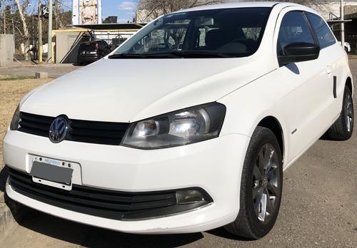 Imagen 1 de 15 de Volkswagen Gol Trend 1.6 Pack I 2014 95.000 Km. Blanco 3p