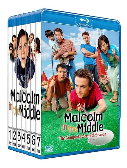 Malcolm El De En Medio Serie Completa 7 Temporadas Bluray