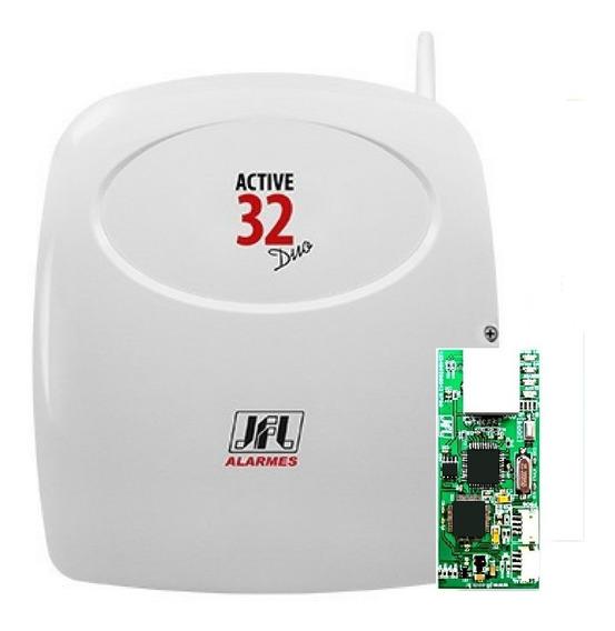 Active 32 Duo Jfl Sem Teclado C/ Modulo Aplicativo Por Nuvem