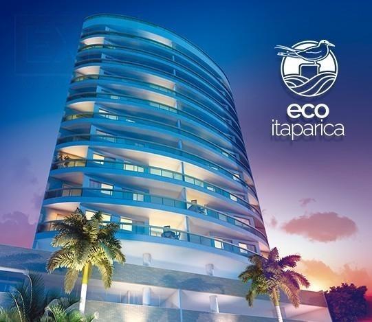 Apartamento Para Venda, 2 Dormitórios, Praia De Itaparica - Vila Velha - 437