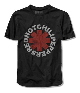 Camiseta Red Hot Chilli Peppers*/ Simbolo Vintage (cód.5240)