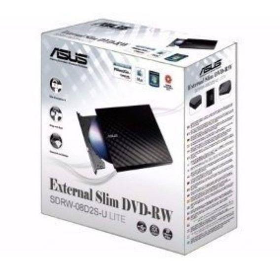 Gravador Cd/dvd Externo Usb Marca Asus D2