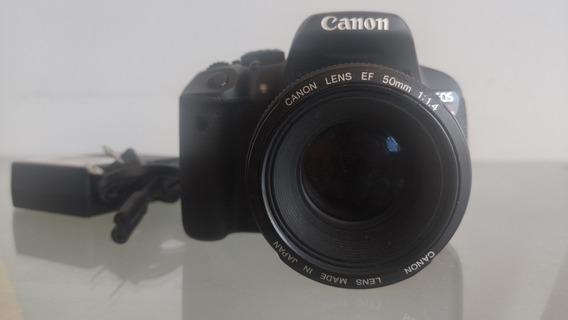 Câmera Canon T5i + Lente 50 Mm 1.4