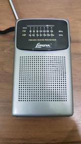 Rádio Portátil Lenoxx Am/fm Com Falante Rp-52a