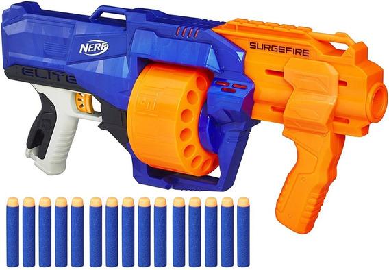 Pistola De Dardos Nerf Elite Surgeforce Original