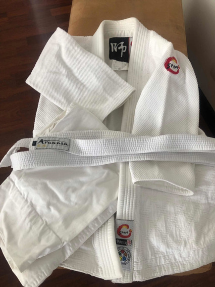 Usado Para Jiu Jitsu (kimono, Pantalón Y Cinturón)