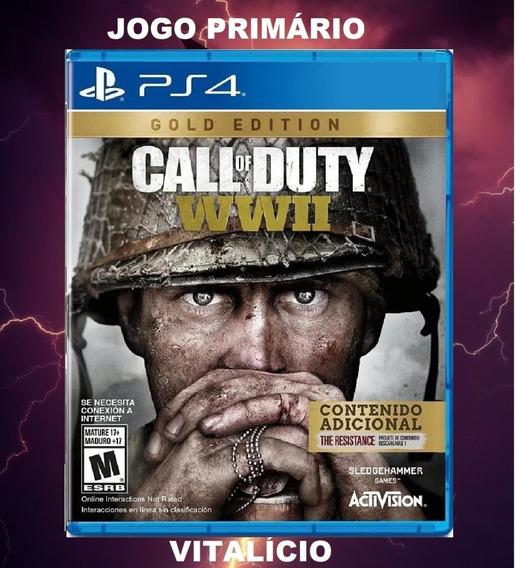 Call Of Duty Wwii Gold Edition Ps4 Original Envio Imediato