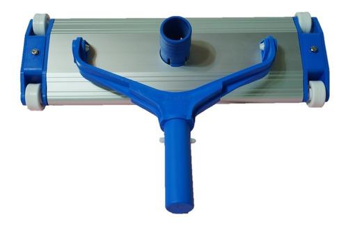 Imagen 1 de 7 de Limpiafondo Vulcano Aluminio 35 Cm Profesional Barrefondo
