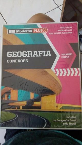 Livros Geografia - Editora Moderna Plus