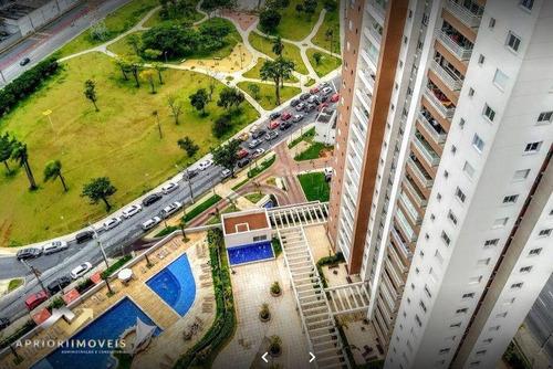 Apartamento Com 3 Dormitórios Para Alugar, 67 M² Por R$ 2.500,00/mês - Vila Homero Thon - Santo André/sp - Ap2438