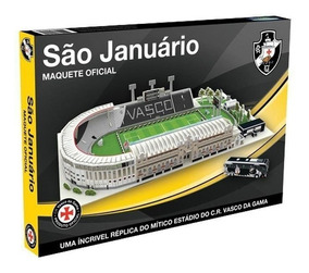 Maquete 3d Estádio São Januário