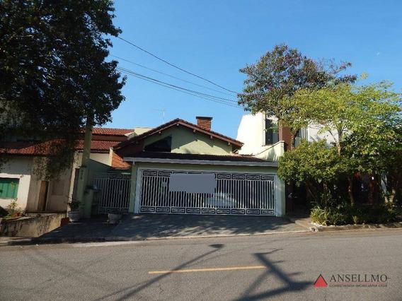 Sobrado Com 3 Dormitórios Para Alugar, 300 M² Por R$ 2.800/mês - Parque Espacial - São Bernardo Do Campo/sp - So0762