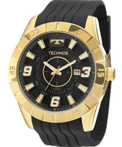 Relógio Technos Masculino Dourado - Original