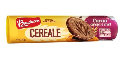 Biscoito Cereale Cacau Aveia E Mel Bauducco 170g