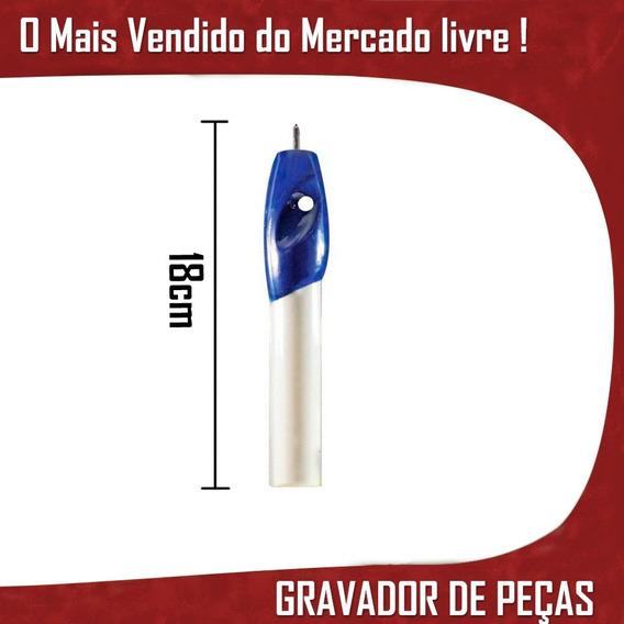 Caneta Gravador Peças Objetos Metal Madeira Plastico Trofeu