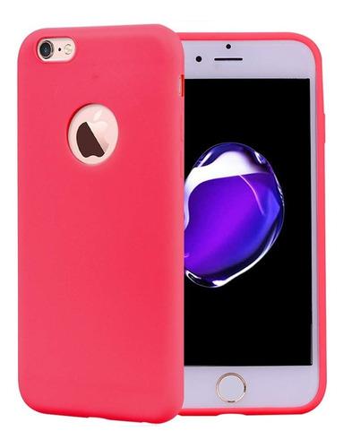 Protector Funda Tpu Rojo Carcasa iPhone 5 5s Se 6 6p 7 7p