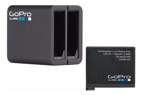 Carregador Duplo + Bateria Gopro Hero 4 Ahbbp-401 Original