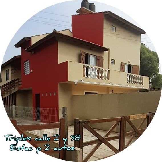 Triplex 8 Pers./duplexs Para 6 Pers-alquiler.mar Del Tuyu