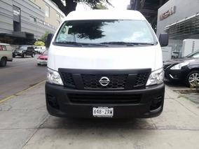 Nissan Urvan Panel Amplia L4/2.5l, Buenisima Para Trabajo!