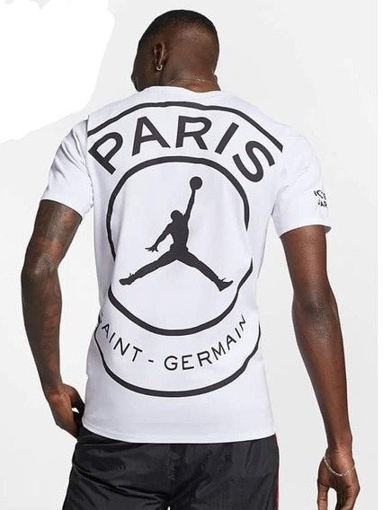 Playera Jordan Paris Saint - Germain Psg 2019 Blanca Nueva