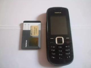 Celular Que Fala A Hora Nokia 1661 Original Usado Com Lanterna Radio Barato