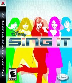 Play 3: Disney Sing It - Original E Lacrado Com Nota Fiscal!