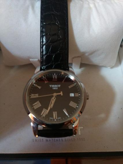 Relógio Tissot Modelo Clássico.acompanha Caixa E Manual