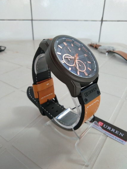 Relógio Curren De Luxo Todo Funcional Original
