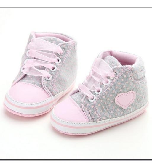 Bebê Tênis Similar All Star / Sapatinho Menina