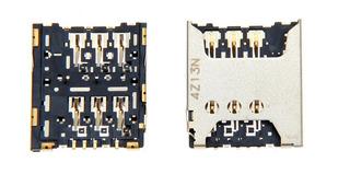 Leitor Chip Sim Card Nokia Lumia 535 Rm-1092 Slot Conector
