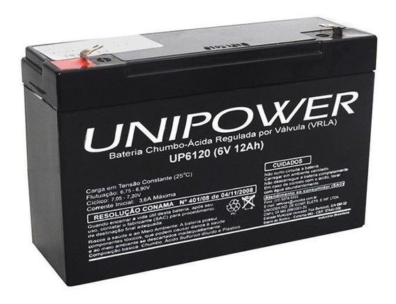 Bateria Para Moto Eletrica 6v 12a