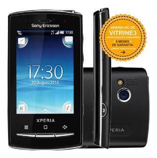 Sony Xperia X10 Mini E10 256mb Single 2g 5mp Preto Vitrine 3