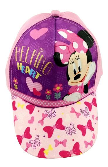 Gorra Minnie Mouse Moño Infantil Original