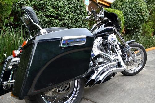 Imagen 1 de 15 de Espectacular Harley Dyna Super Glide 6 Vel Muchos Accesorios