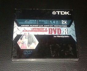 Mini Dvd- Tdk 2x Handycam Camcorder 30 Minute 1.4gb