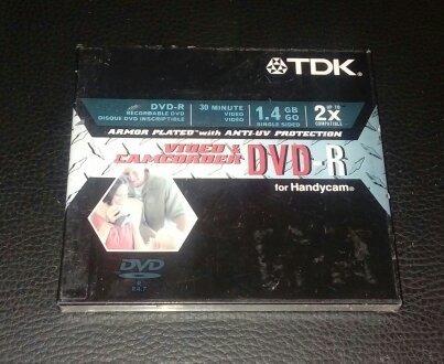 Mini Dvd- Tdk 2x Handycam Camcorder 30 Minute 1.4gb
