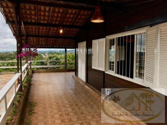 Casa Para Venda Em Campos Do Jordão, Vila Inglesa, 4 Dormitórios, 2 Banheiros, 4 Vagas - 245