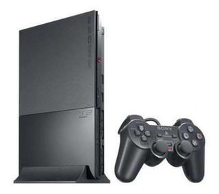 Play Station 2 Sony Chipeada +2 Joystick +memory +11 Juegos