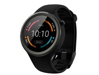 Relogio Smartwatch Motorola Moto 360 Com Gps Geração 2 Lindo