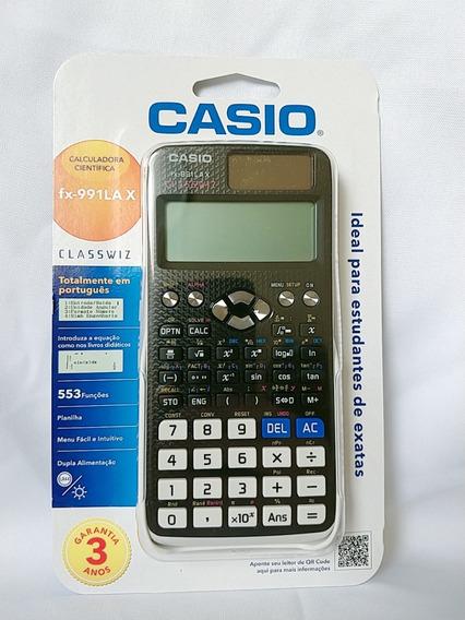 Calculadora Científica Casio Fx 991 Lax - 3 Anos Garantia