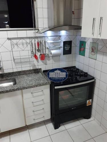 Apartamento Com 3 Dormitórios À Venda, 92 M² Por R$ 290.000,00 - Santana - Araçatuba/sp - Ap1007