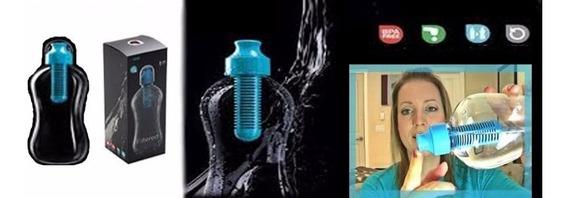 Botellas Reutilizables Que Filtra El Agua